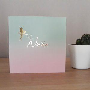 Geboortekaart Nuria