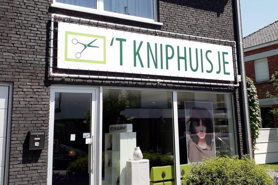 Kniphuisje banner